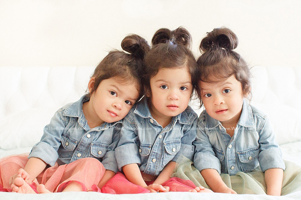 3rd birthday Robinson Triplet Update   We Are Three!
